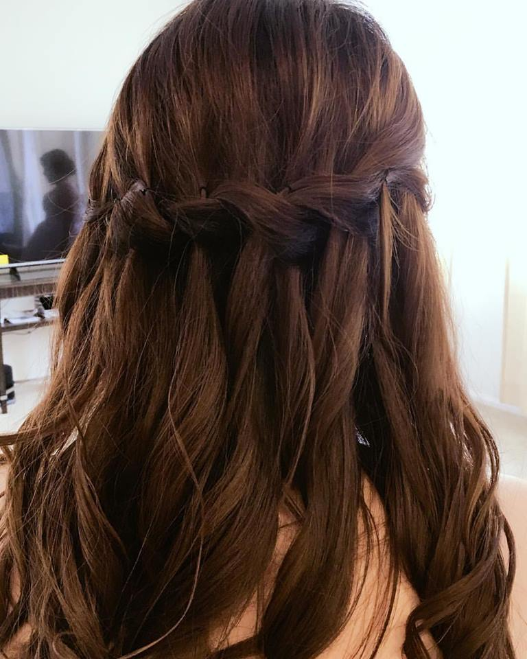 Waterfall Braid For Soft Look