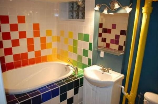 Wonderful Colorful Kids Bathroom Decor