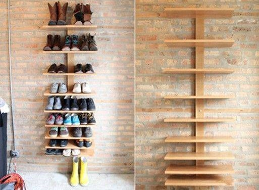 Amazing DIY Shoe Shelves Storage Idea