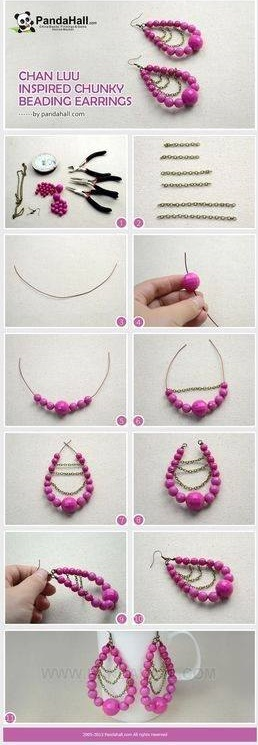 45 Easy And Unique DIY Earrings Ideas For All The Jewelry Lovers ...