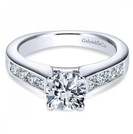 Cly Channel Set Diamond Ring Design