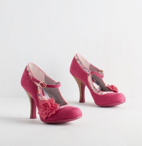 Perfect Pink Wedding Shoes Design