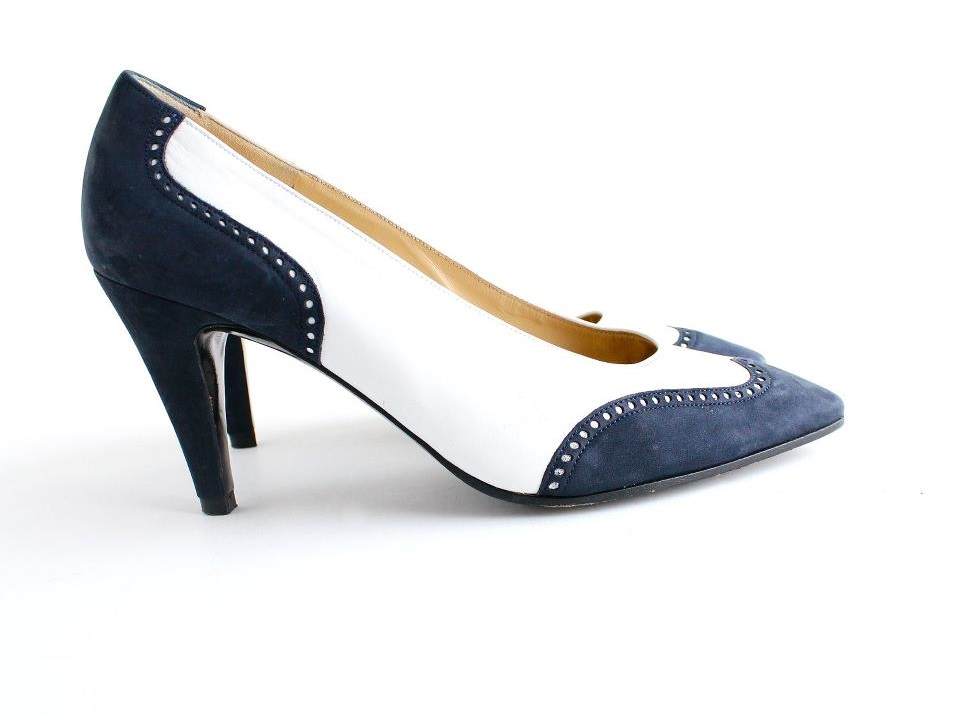 35 Trendy Spectator Heels That Can Be
