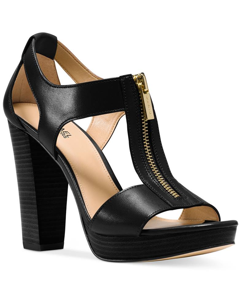 Black Heel Shoe Strap