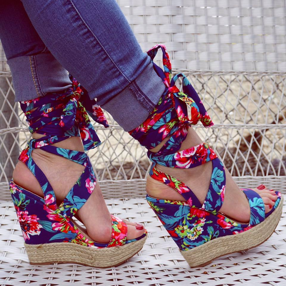 40 Fashionable Wedges Heels To Accentuate The Charm In You