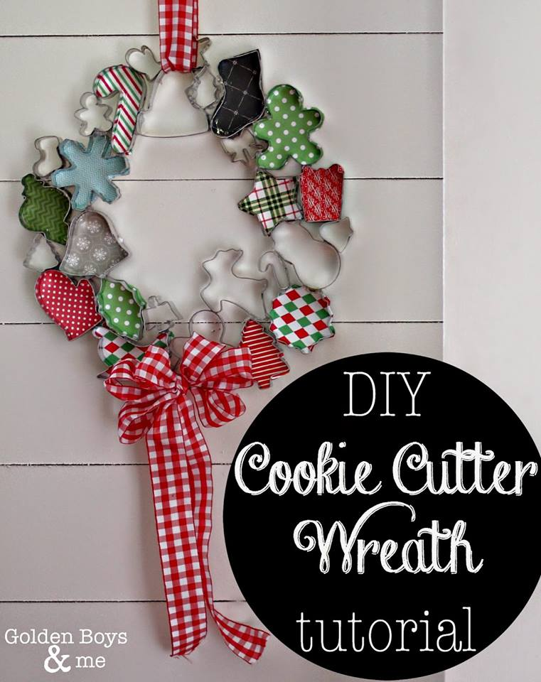 Adorable DIY Cookies Cutter Wreath