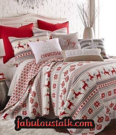 Alluring Reindeer Bedding For Christmas Decor