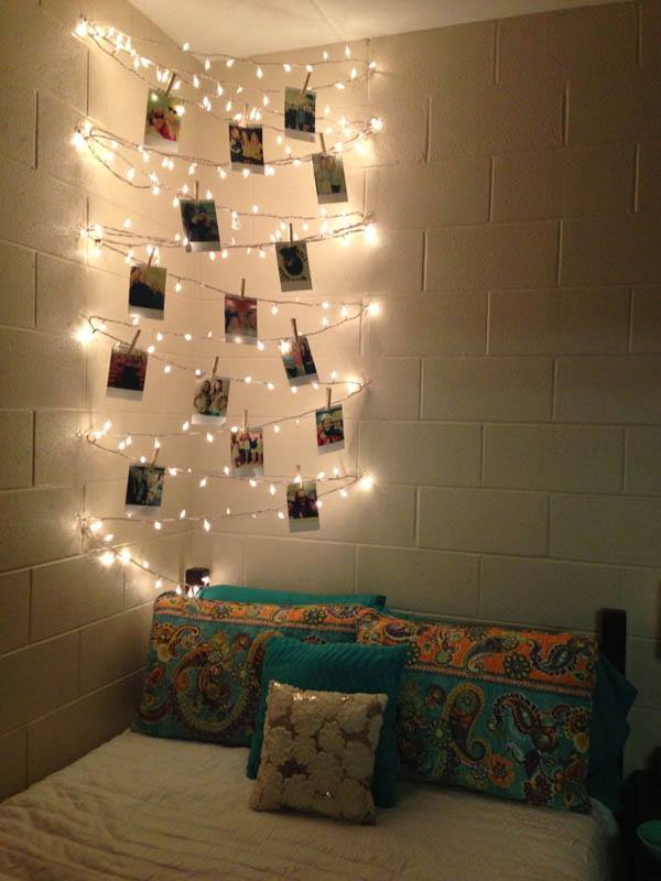Alternative Christmas Tree By Lights And Photos
