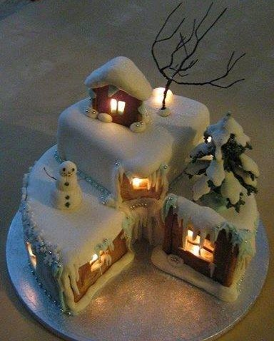Awesome Christmas Cake Design