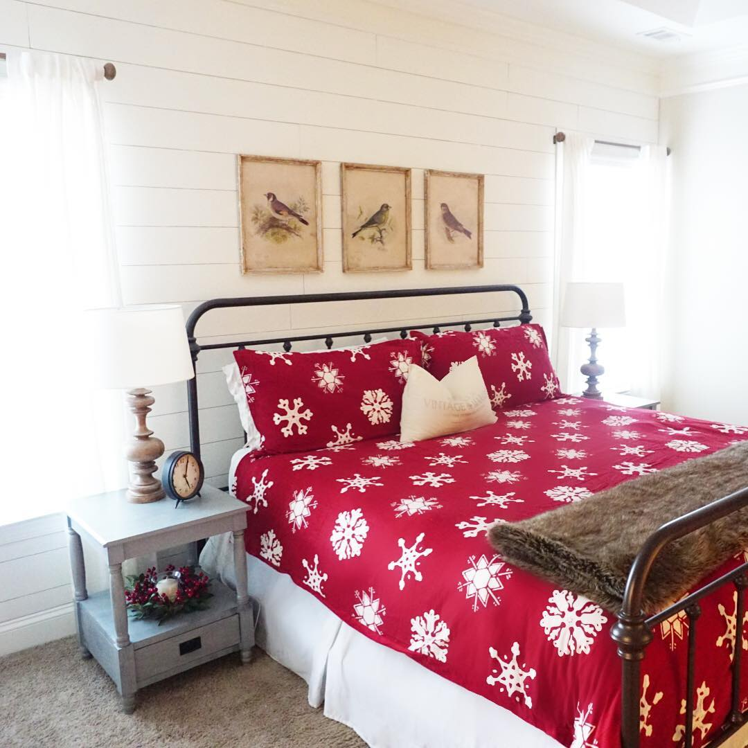 Awesome Snawflakes Bedding Idea