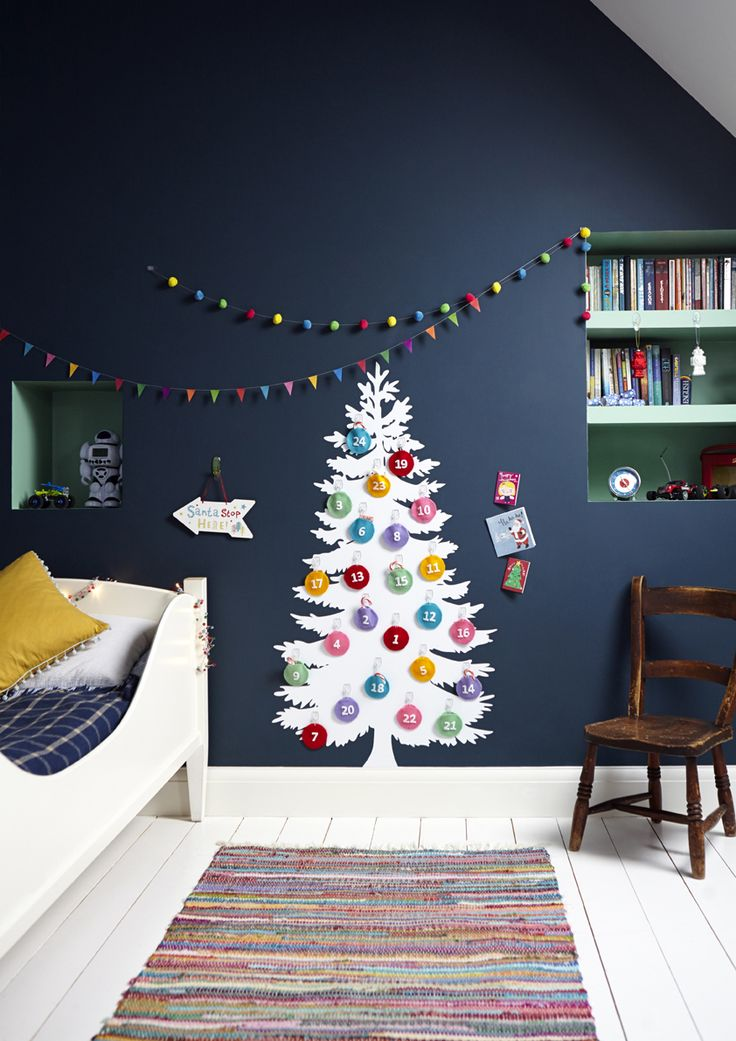 35 Fascinating Ideas To Try For Kids Room Decor For Christmas