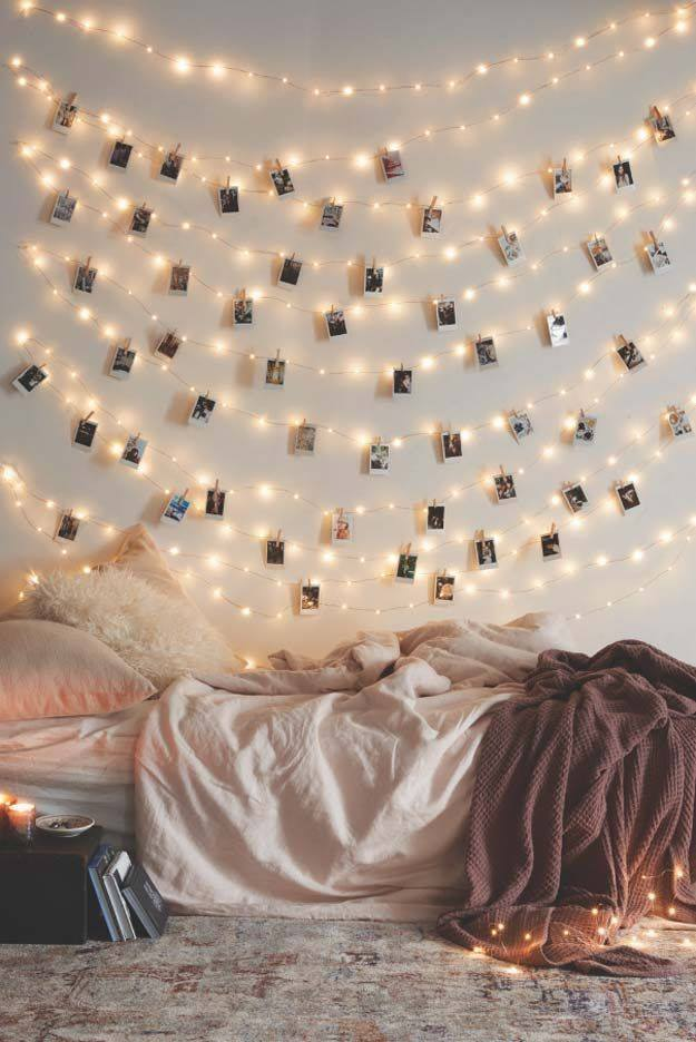 cool idea to decorate your room for christmas