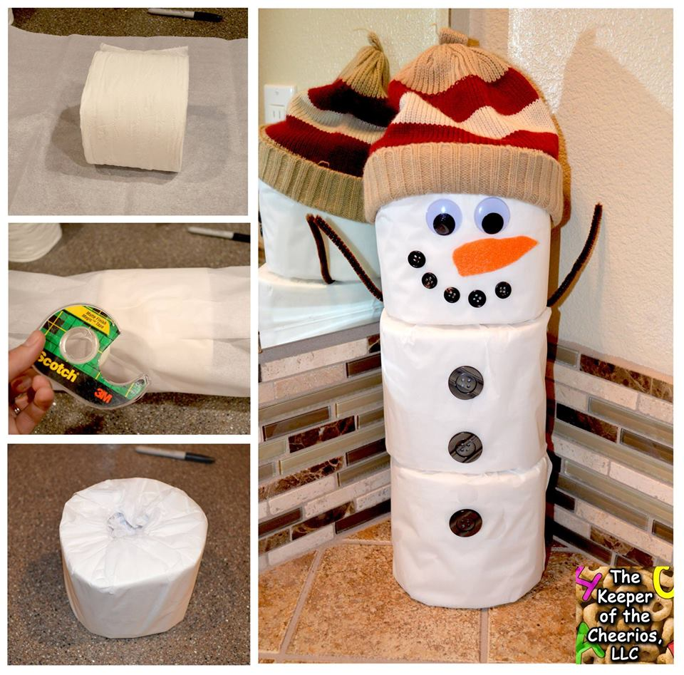 35 Fascinating Bathroom Decor For Christmas Makeover