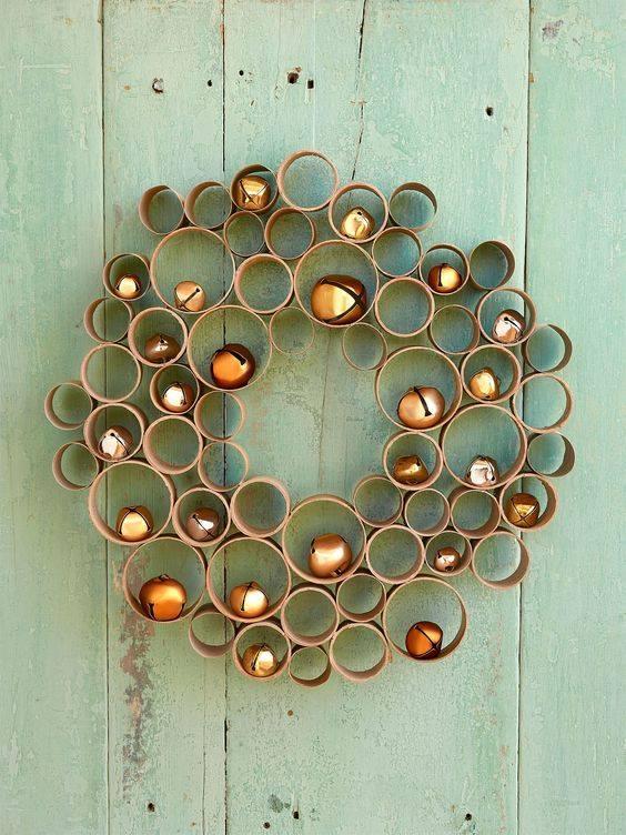 Dashing DIY Honeycomb Wreath