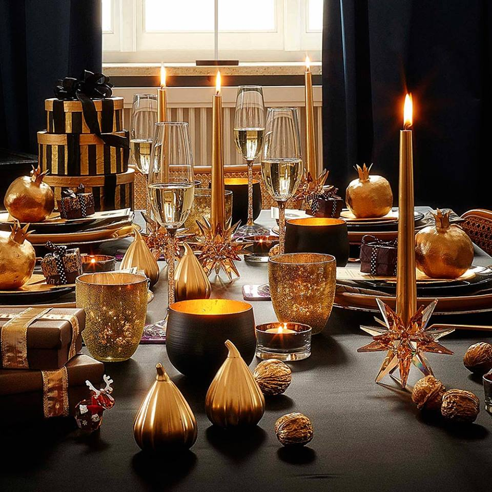40 Ideas To Try For Christmas Table Decor