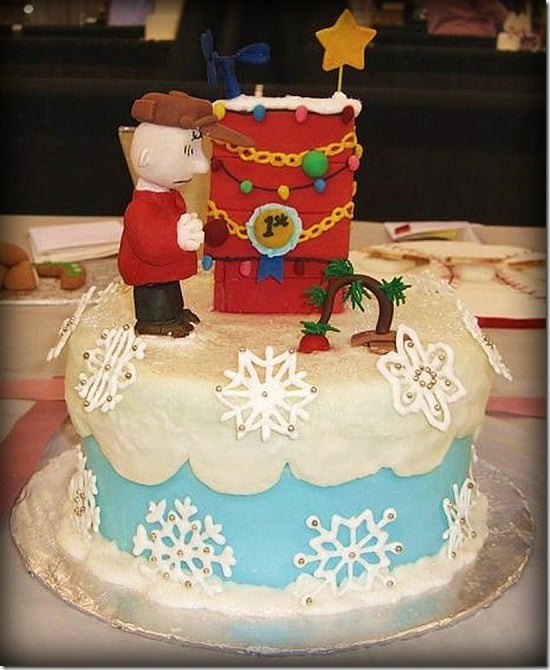 Exquisite Christmas Cake For Party