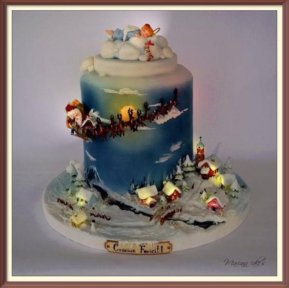 Great Christmas Cake Design
