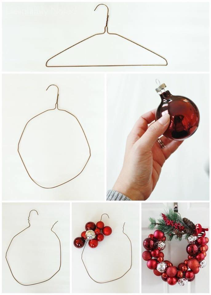 Hanger With DIY Ornaments