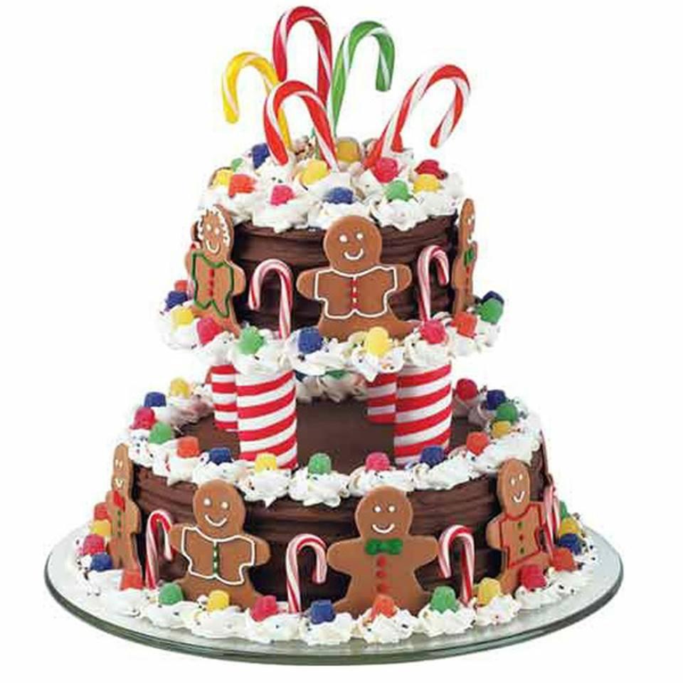 Merry Go Round Birthday Cake