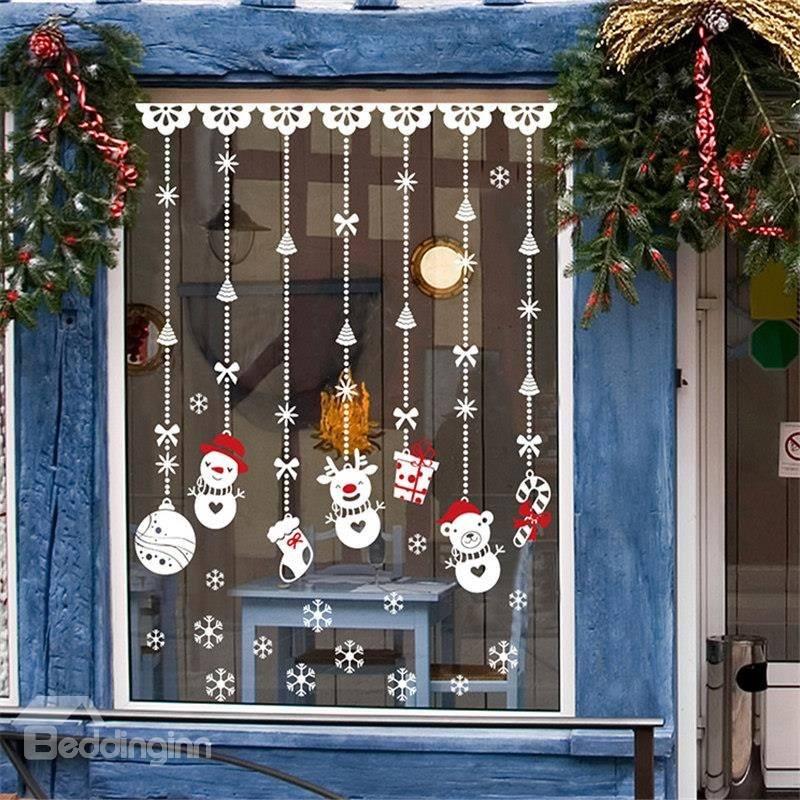 Magic PVC Hanging Christmas Decor For Kids Room