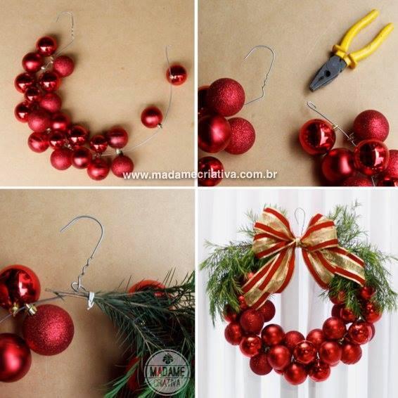 Mini Ball Ornaments In Hanger