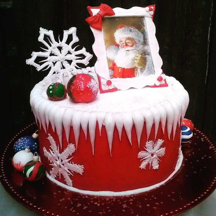 Outstanding Santa Cake On This Christmas