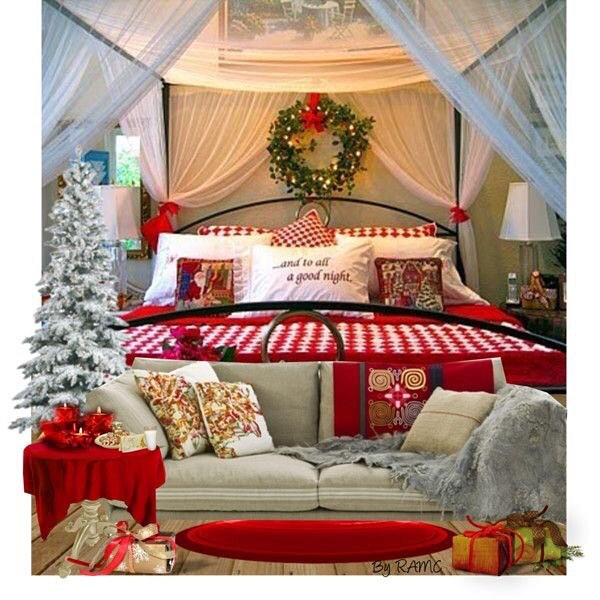 40+ Cute And Creative Christmas Bedroom Decor To Try