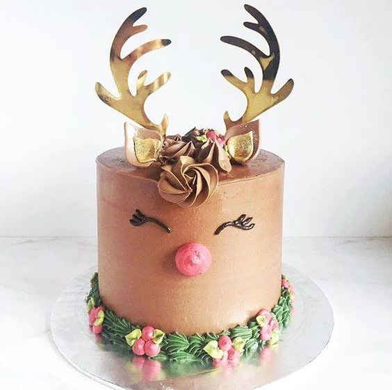 Rocking Kinda Christmas Cake Idea
