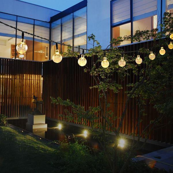 Adorable LED Outdoor Ball Fairy String Christmas Party Decor Light