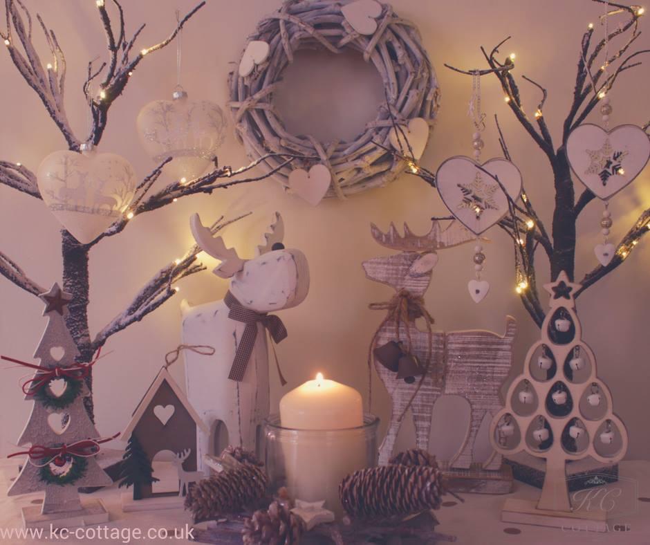 Amazing Shabby Chic Christmas Decoration Idea