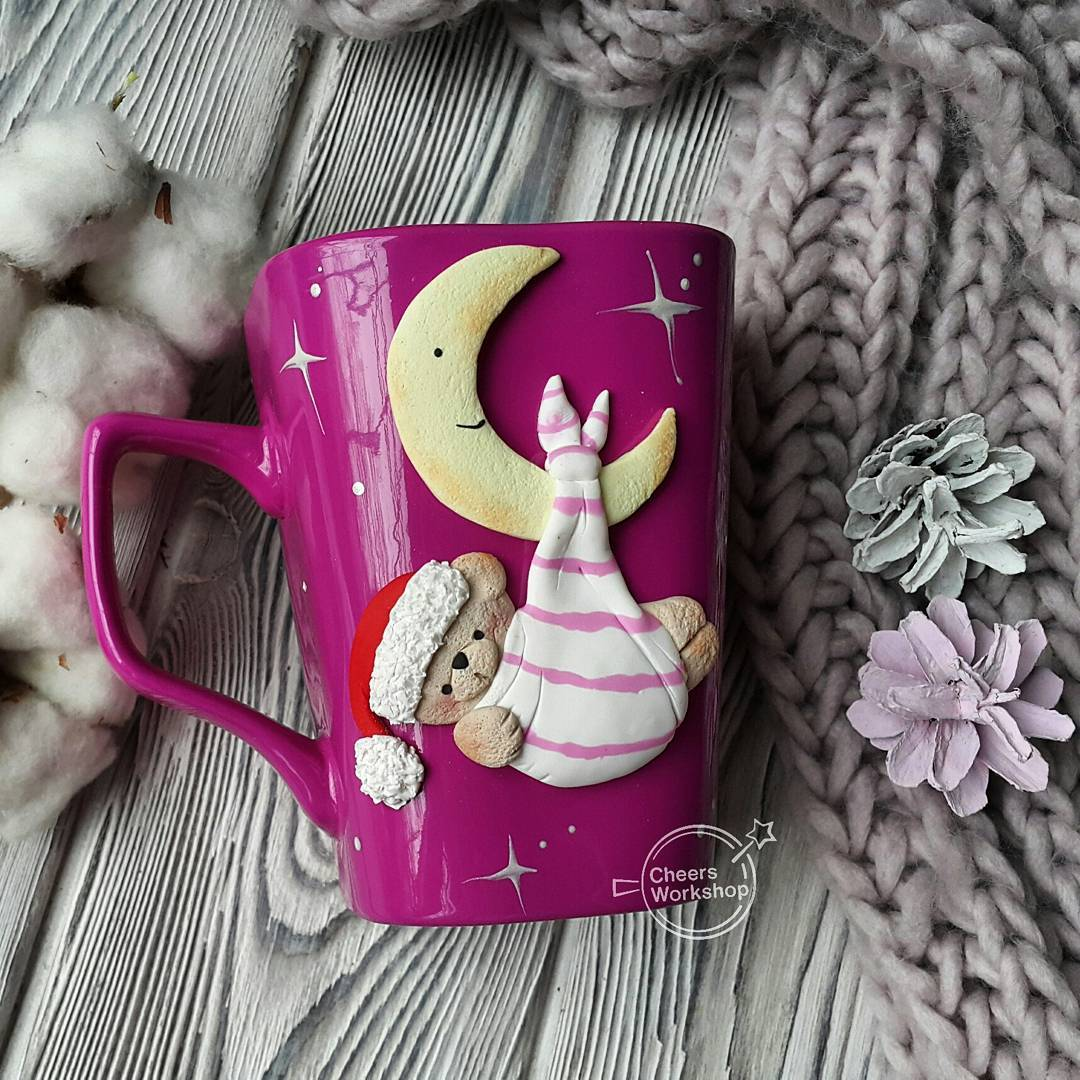 Appealing Cup Decor To Gift Your Love One