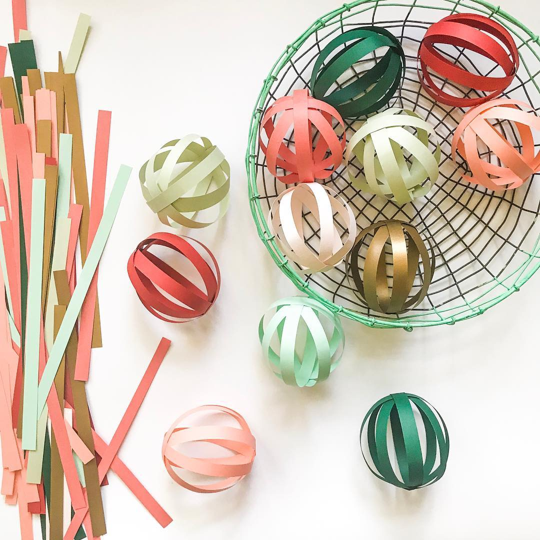 Awesome Paper Ornaments For Christmas Tree