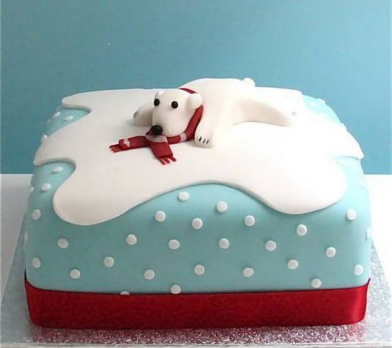 Awesome Puppy On Cake