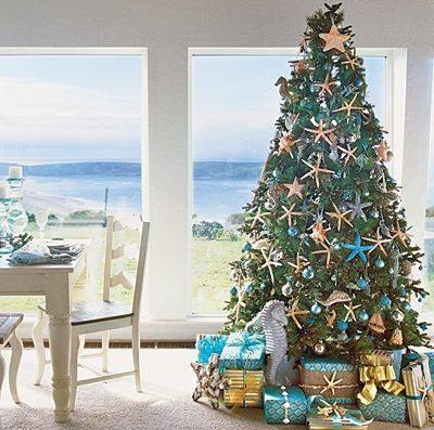 Beautiful Sea Scapes Christmas Tree Ornaments