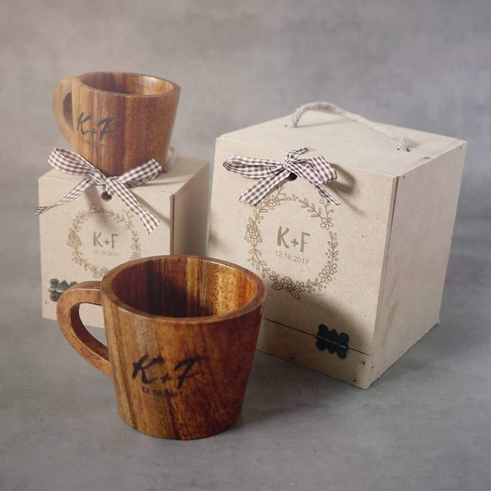 Best Wooden Cup For New Year
