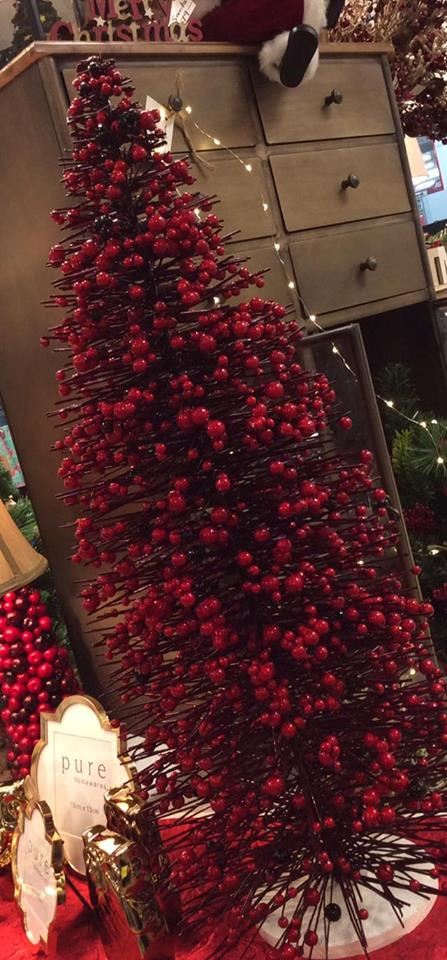 Bloosoms Red Tree For Christmas