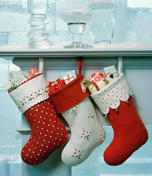 Chic Handmade Christmas Stockings