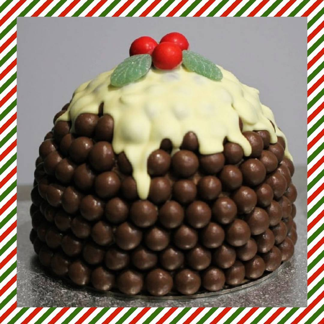 Chocolate Is Staked And Decorated With White Chocolate