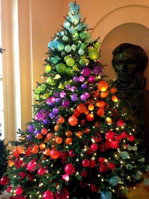 Colorful Ornaments Decor Idea