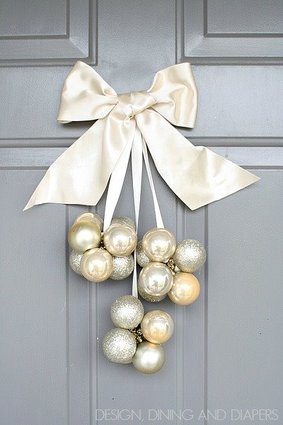 Cute DIY Ornament Door Decorationn