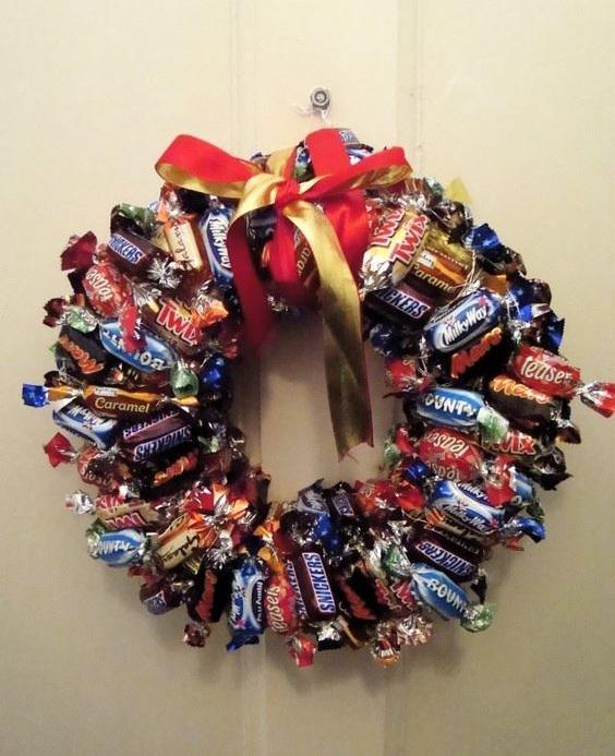 Dashing Toffees Wreath