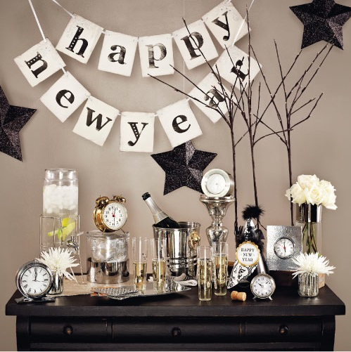 Dazzling New Year Home Decor Ideas