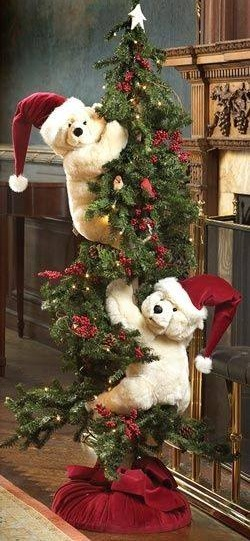 Decorate Christmas Tree With Toys