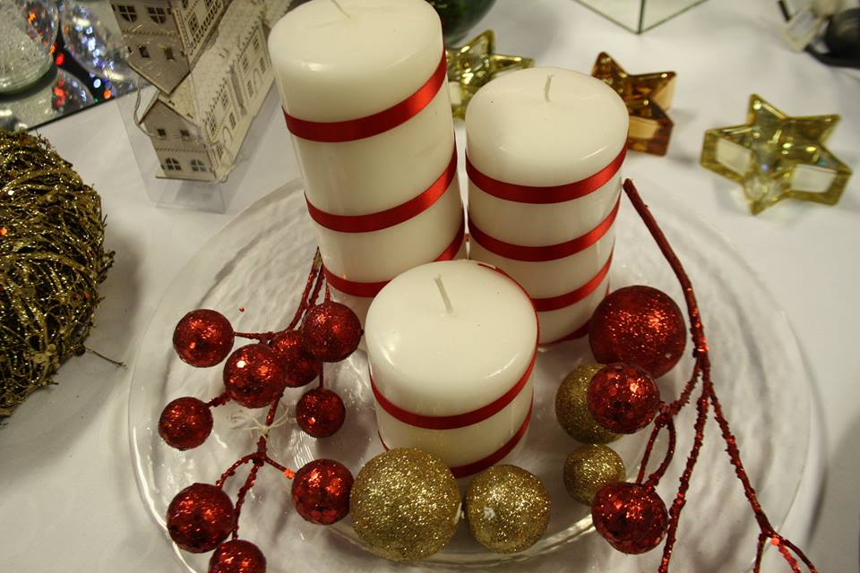Decorate Plane Candles With Ribbon Gives Beautiful Look To Candles