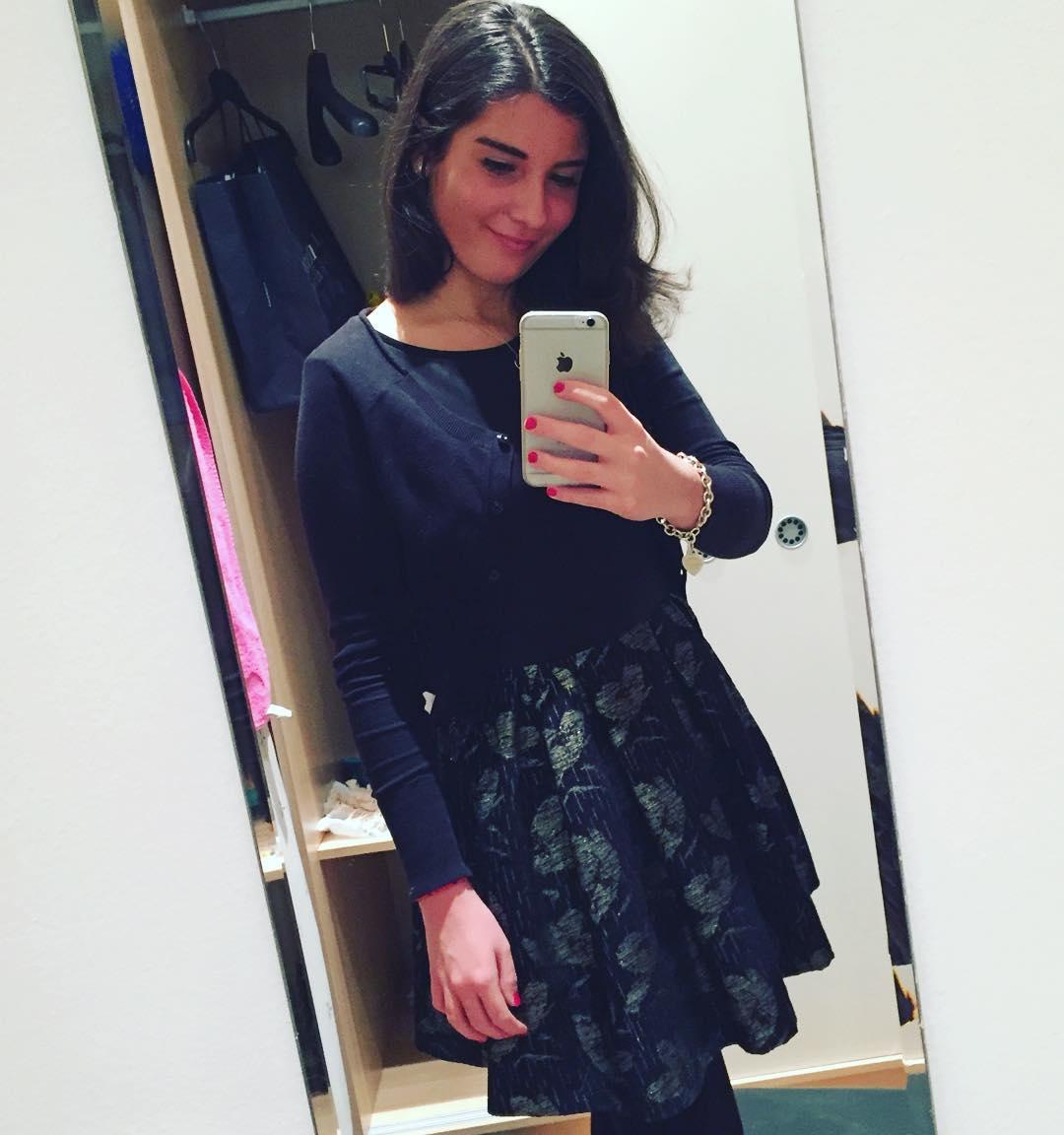 Elegant Black Net Fabric Dress With Shrug