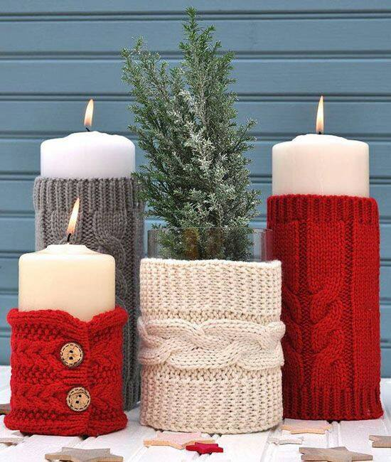 Excellent Idea Of Sweater For Candles