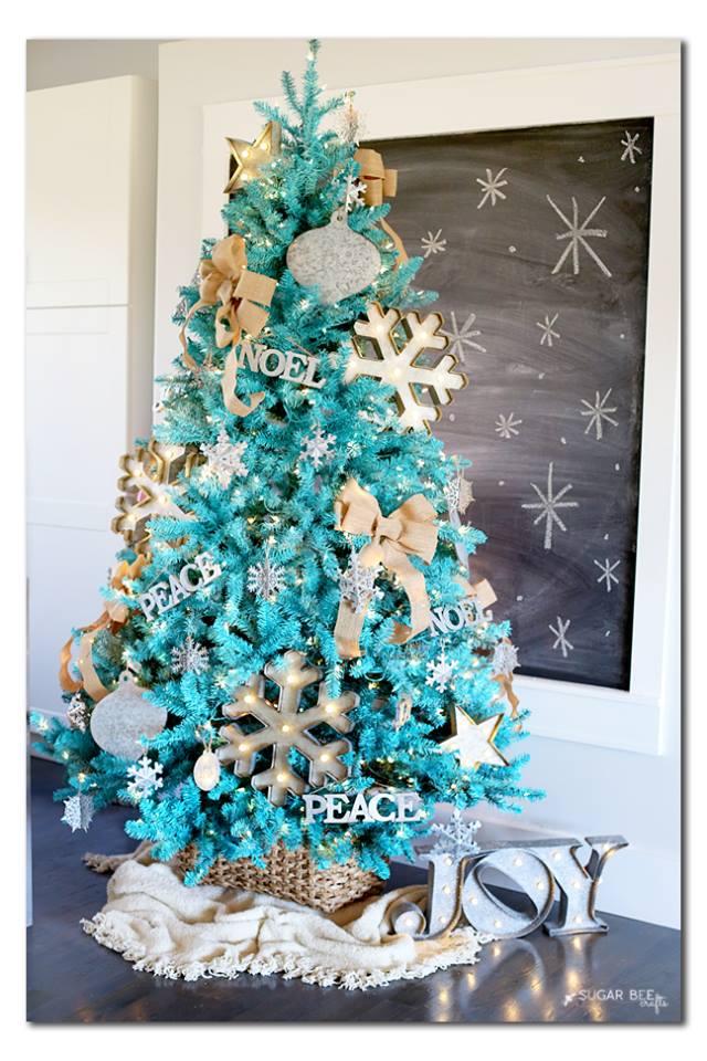 Fabulous DIY Christmas Tree Decoration