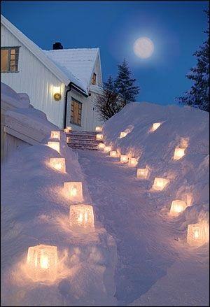 Fabulous Ice Lanterns For New Year Eve