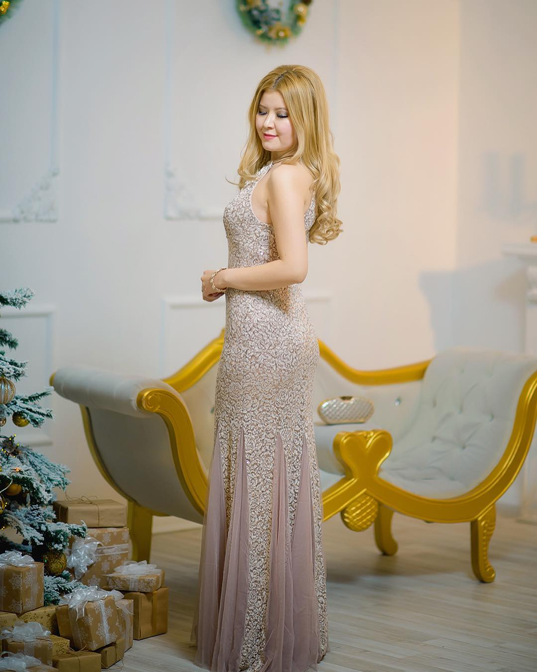Fabulous New Year Eve Party Long Dress