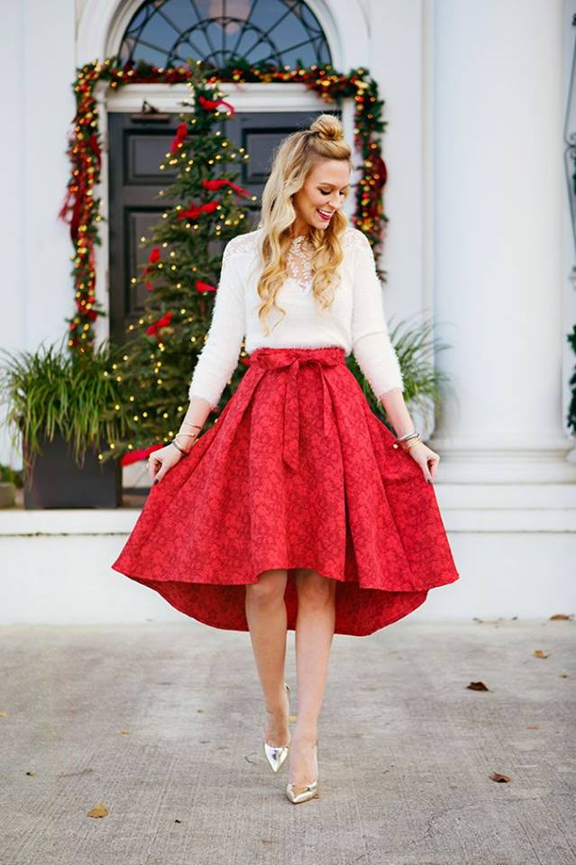 f4ad58c0e0 Fabulous White Top With Red Skirt - Blurmark
